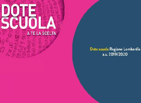 Logo Dote Scuola regione Lombardia 2019/20