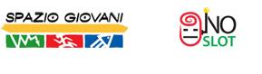 Logo Spazio Giovani e NO SLOT