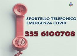 Comune di Lissone |  Sportello telefonico emergenza Covid-19 335 6100708