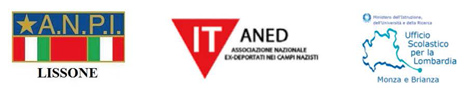 loghi A.N.P.I. Lissone | IT ANED Associazione Nazionale Ex Deportati nei Campi Nazzisti | Ufficio Scolastico per la Lombardia