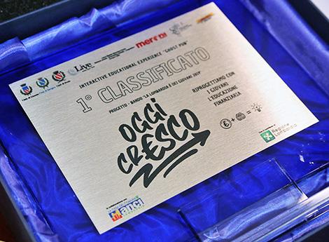 Comune di Lissone |  «Oggi crESCO»: conclusione del progetto e premiazione del team vincitore