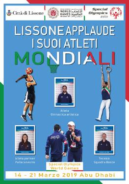 manifesto Atleti  Special Olympics