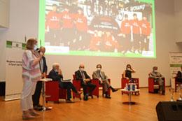 Lissone - Grande Trittico Lombardo - presentazione ufficiale nell'auditorium di Regione Lombardia