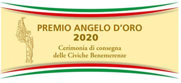 Premio ANGELO D'ORO 2020 - Cerimonia consegna delle Civiche Benemerenze