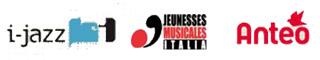 loghi i-jazz,  Jeunesses Musicales Italia; Anteo;