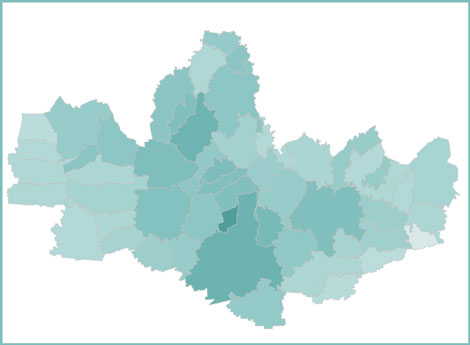 Immagine cartina Monza Brianza