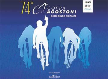 particolare manifesto 74° Coppa Ugo Agostoni - Giro delle Brianze