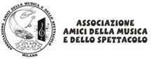 Logo Associazione Amici della Musica e dello Spettacolo - Milano
