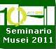 Logo 10 anni Museo arte contemporanea Lissone