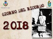 GIORNO DEL RICORDO 2018