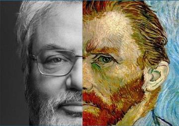 Carlo Adelio Galimberti - Vincent Van Gogh particolare locandina conferenza