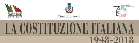 70 anniversario Costituzione Italiana