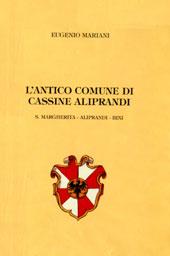 Porzione di copertina Libro L' antico comune di Cassine Aliprandi