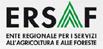 logo ERSAF Ente Regionale per i Servizi all'Agricoltura e alle Foreste