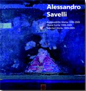 Particolare della locandina della mostra personale di ALESSANDRO SAVELLI