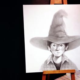 disegno harry Potter