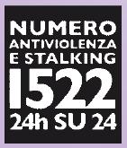 numero antiviolenza e stalking 1522 - 24h su 24h