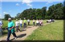 Foto del gruppo durante la camminata