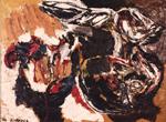 Karel Appel, Composizione, 1956