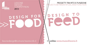DESIGN FOR FOOD DESIGN TO FEED