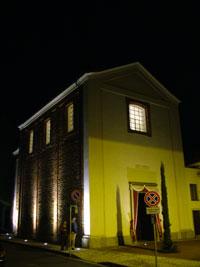 Foto notturna Oratorio di San Carlo