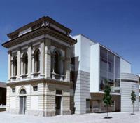 Immagine prospettica Museo d'arte contemporanea