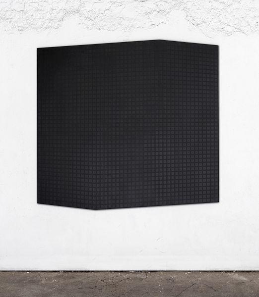 Piero Mega, Sparring partner (Sean), 2021, tecnica mista su tela, 160 × 170 cm.