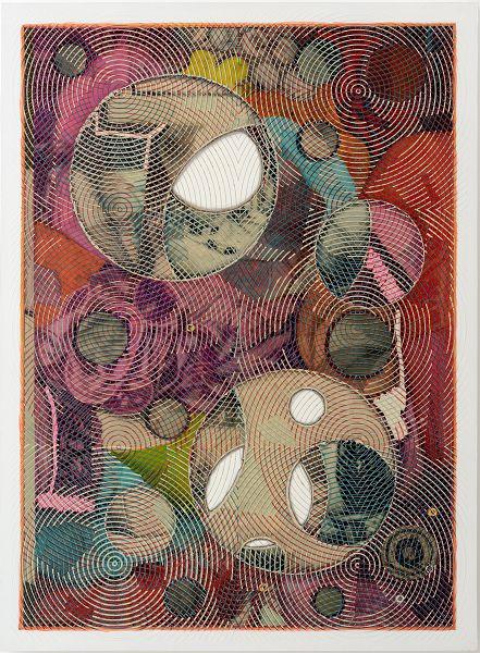 Luigi Carboni, SENZA TITOLO, 2015-2016, olio e acrilico su tela, 137x100 cm.