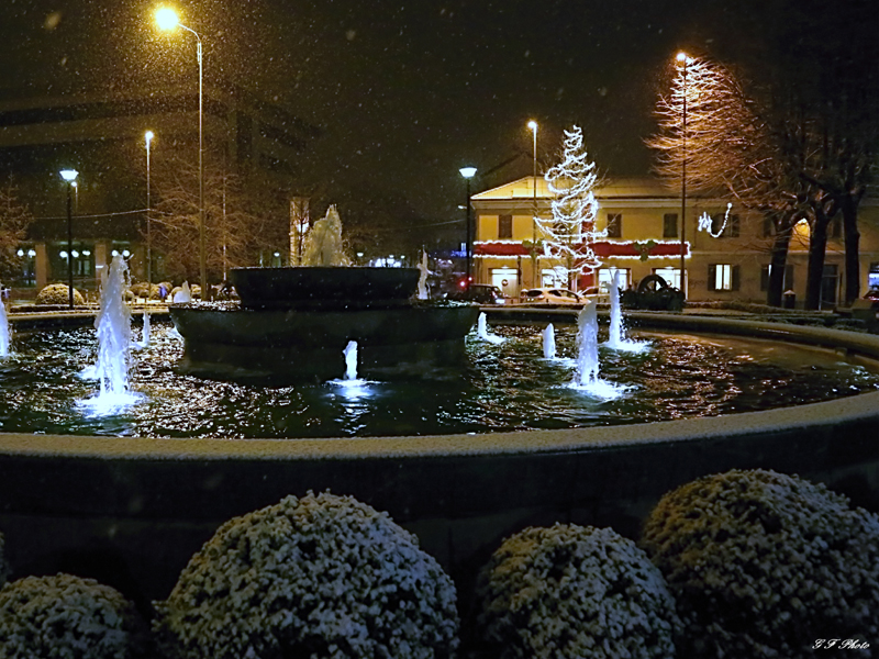 La neve a Lissone 2017