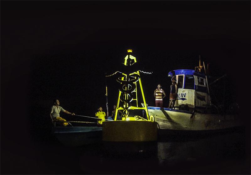 Adrián Balseca, Mar Cerrado, 2016, video 10'