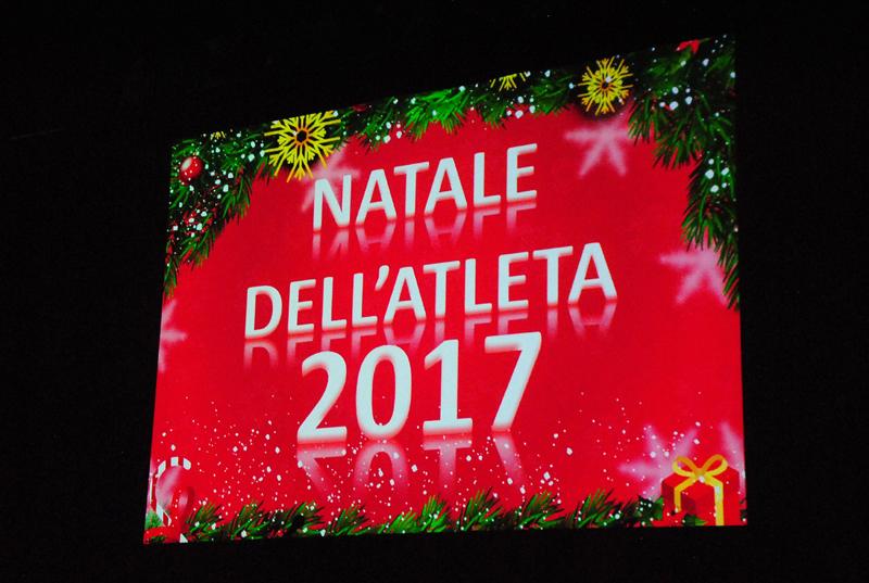 Premiazione Natale dell'atleta 2017