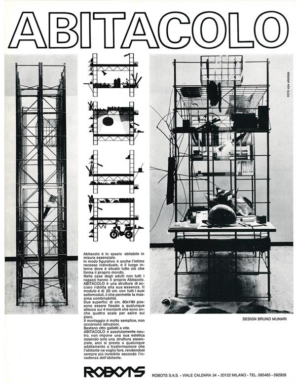 Robots - Bruno Munari - Abitacolo - foto Ada Ardessi