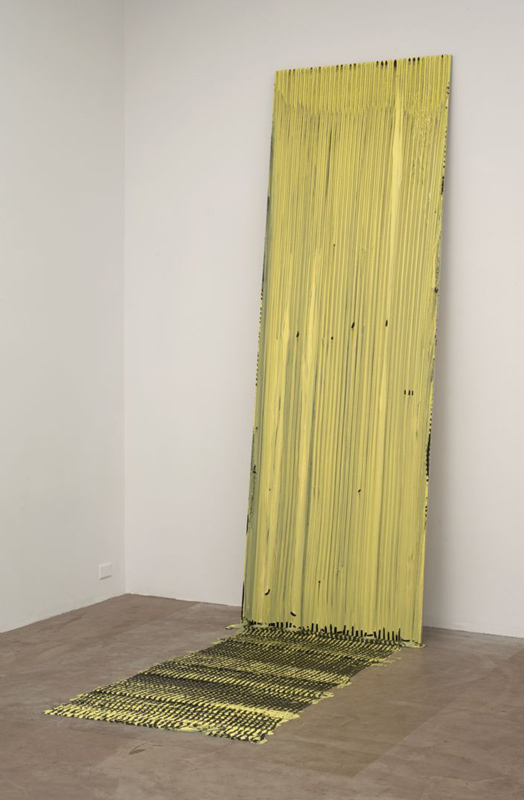 Alexis Harding, Temporary Wet Painting No. 12, 2010, installazione site specific