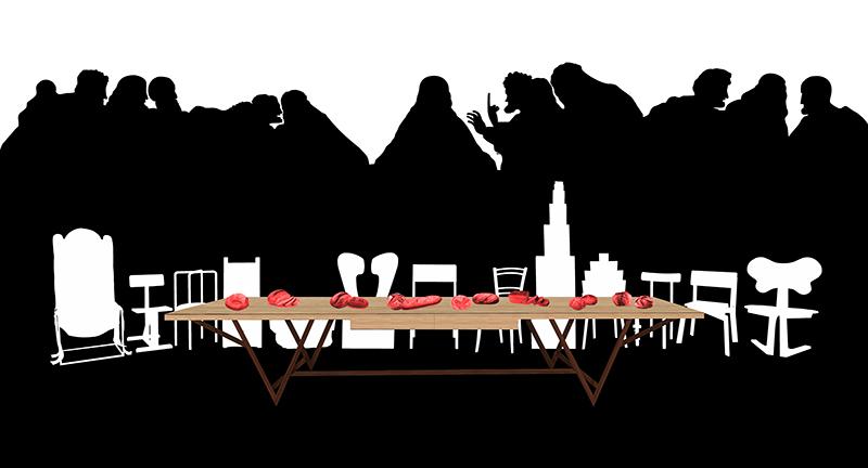 12+1 invito a cena (il pane di Leonardo) - progetto a cura di Davide Crippa e Alberto Zanchetta