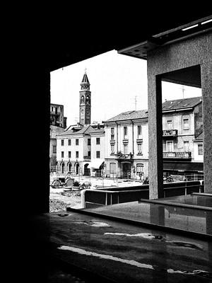 Piazza Libertà da Palazzo Terragni - Lissone 2006