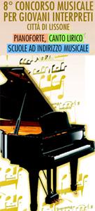 """Logo 8° concorso musicale per giovani interpreti """"Citta' di Lissone"""""""