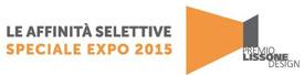 logo LE AFFINITA' SELETTIVE SPECIALE EXPO 2015