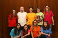 """Foto del gruppo musicale """"GLI AMICI DELLA MUSICA"""""""
