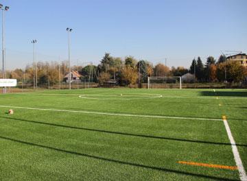 Immagine nuovo campo via Beltrame