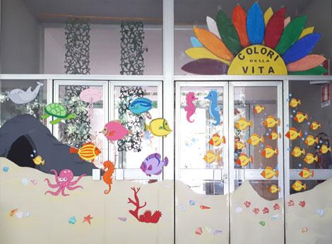 """Immagine vetrina estiva """"Centro Ricreativo COLORI DELLA VITA"""""""