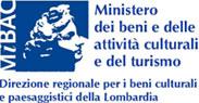 Logo Ministro dei beni e delle attività culturali e del turismo - direzione regionale per i bei culturale e paesaggistici della Lombardia
