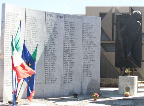Immagine monumento ai caduti