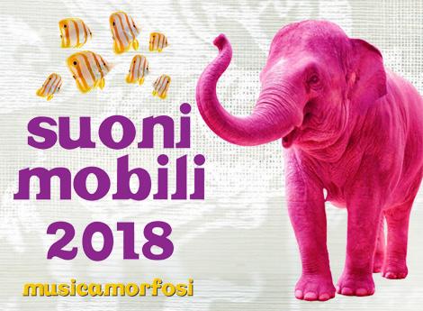 Icona porzione di locandina suoni mobili 2018 - musicamorfosi
