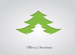 Clip Alberi di Natale stilizzati