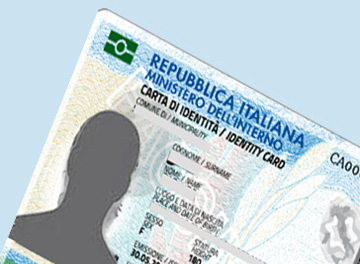 Miniaturizzazione immagine carta identità elettronica