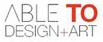 logo ABLE TO Design+Art