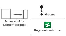 Logo tripartito Museo d'Arte Contemporanea - ! Museo - Regione Lombardia