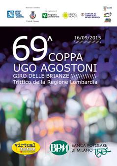 "Miniatura locandina ""69^ COPPA UGO AGOSTONI"