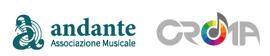 Logo Andante Associazione Musicale e CROMA