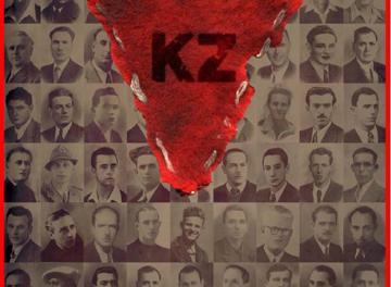Particolare locandina film KZ